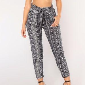 Fashion nova randi print pants